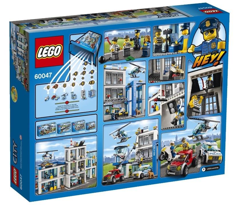 Lego City Поліцейський відділок 60047