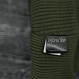 "Шапка "" Intruder "" хаки big logo , фото 2"