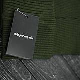 "Шапка "" Intruder "" хаки big logo , фото 5"