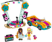 Lego Friends Машина со сценой Андреа 41390, фото 3