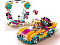 Lego Friends Машина со сценой Андреа 41390, фото 4