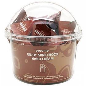 Набор кремов для рук с ароматом шоколада Ayoume Enjoy Mini Choco Hand Cream 3 г * 30 шт