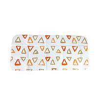 Пелёнка непромокаемая многоразовая (57*120) (Треугольники)