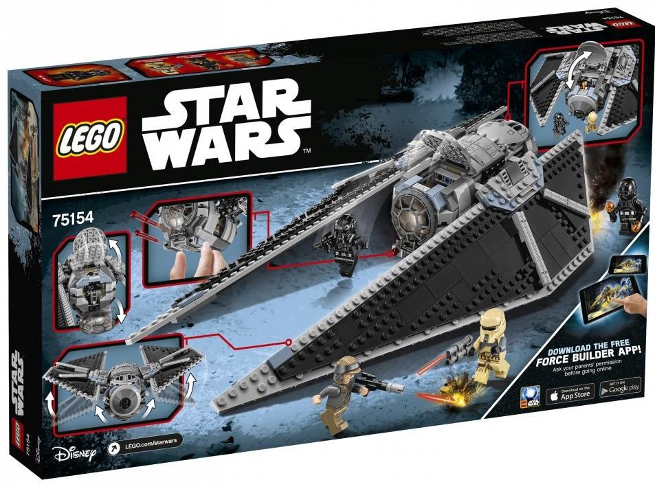Lego Star Wars Ударний винищувач СІД 75154