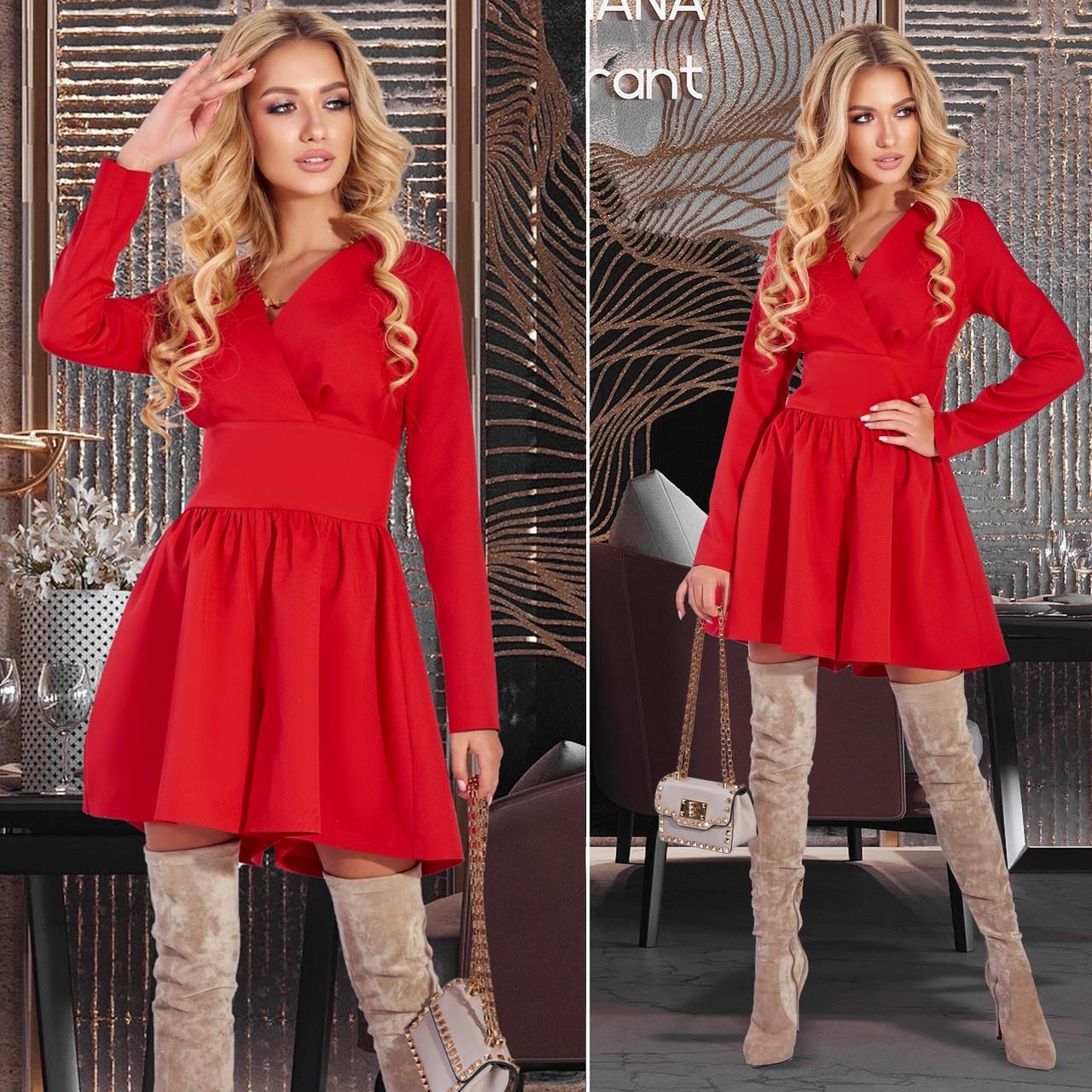 Жіноча коротке плаття з шортами (Код MF-234) ПРО
