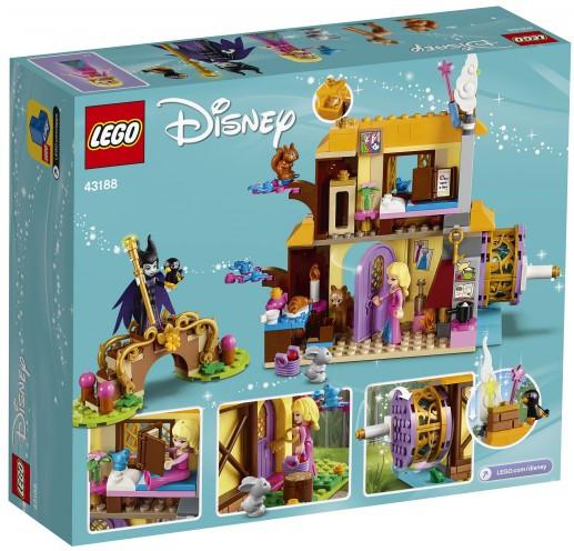 Lego Disney Princesses Лесной домик Спящей Красавицы 43188