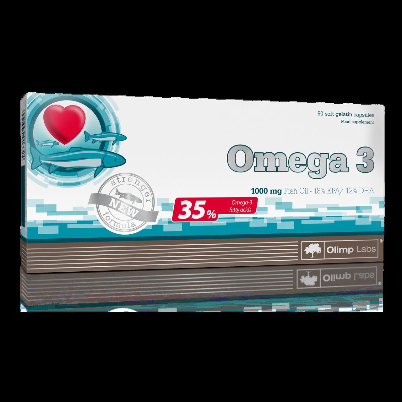 Olimp Omega3 1000mg 35% 60 caps