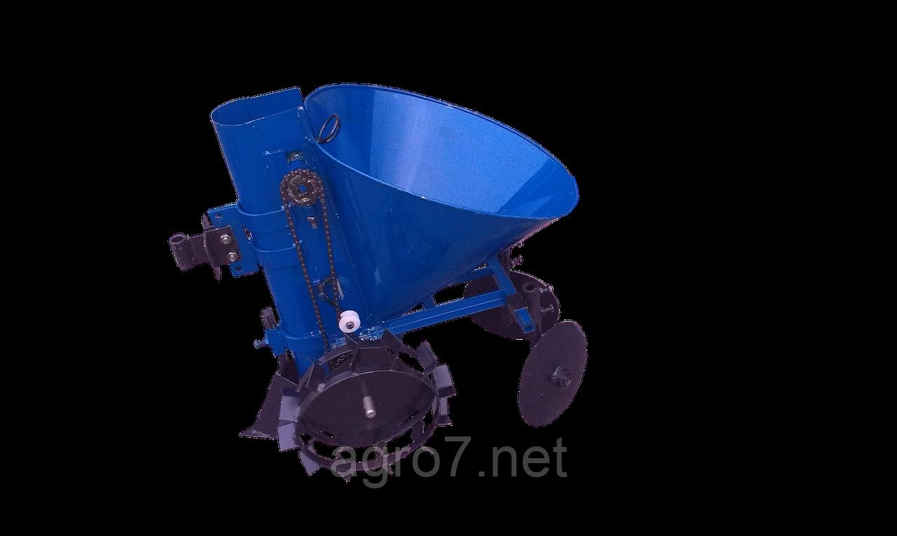 Картофелесажалка К-1Ц (синяя)