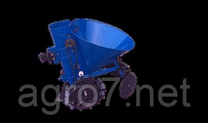 Картофелесажалка для мотоблока К-1Ц (синяя)