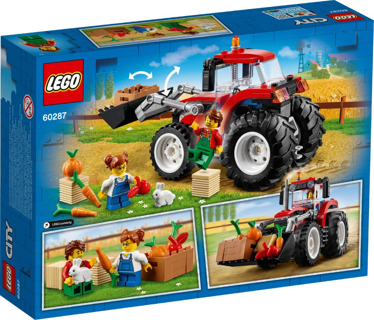 Lego City Трактор 60287