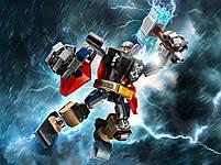 Lego Super Heroes Робоброня Тора 76169, фото 9