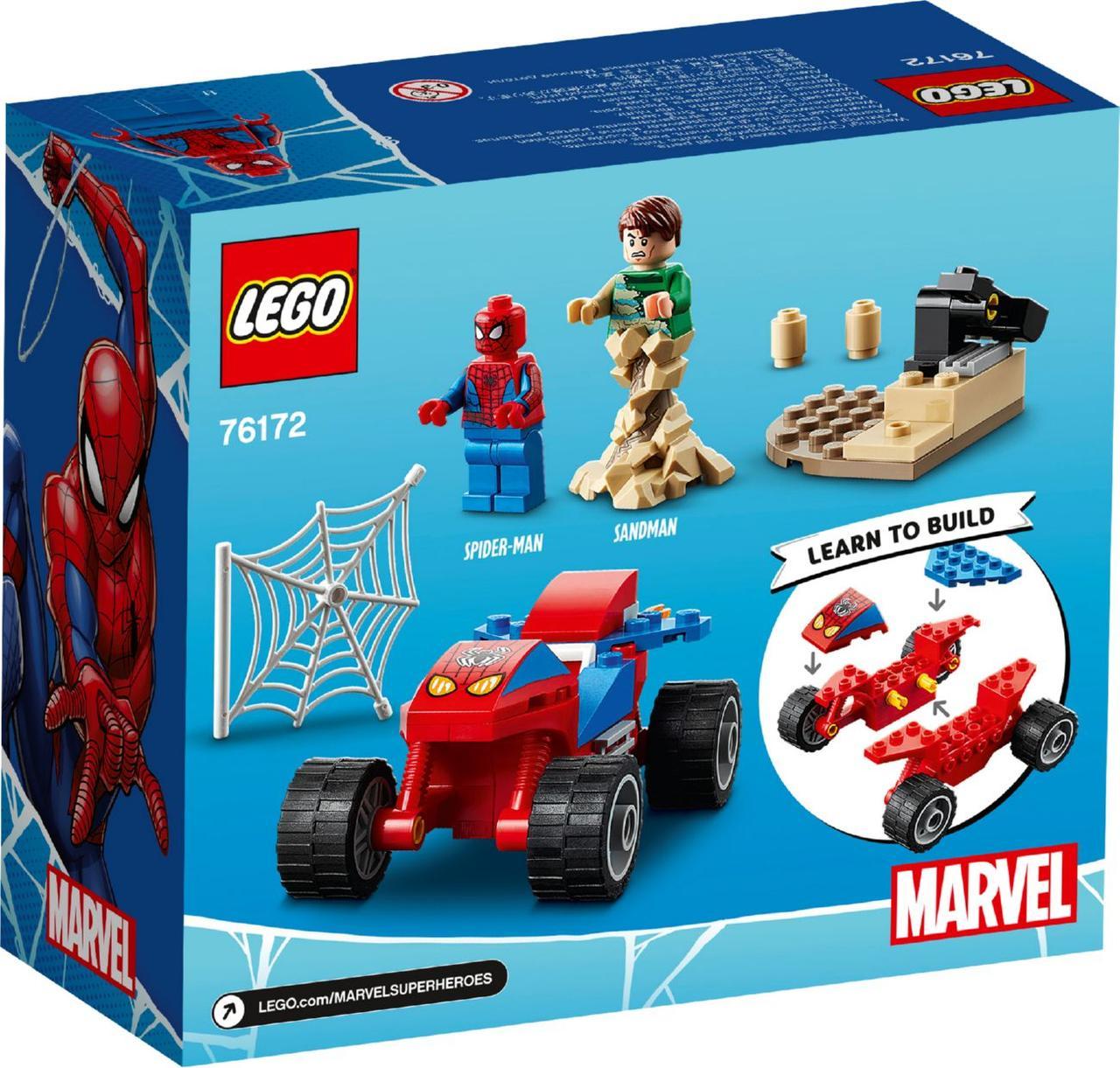 Lego Super Heroes Сутичка Людини-Павука і Пісочного Людини 76172
