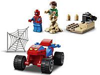 Lego Super Heroes Сутичка Людини-Павука і Пісочного Людини 76172, фото 4