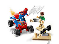Lego Super Heroes Сутичка Людини-Павука і Пісочного Людини 76172, фото 5