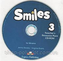 Диск Smiles for Ukraine 3 Teacher's Resource CD-ROM