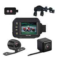 Мото відеореєстратор BIRD CS31 з двома камерами (задня \ передня), FULL HD, фото 1