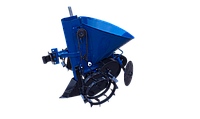 Картофелесажалка для мотоблока К-1Л (синяя), фото 1