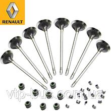 Впускной клапан (комплект 8 шт) на Renault Trafic 2.0dCi (2006-2014) Renault (оригинал) 7701476596