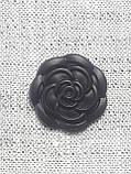 Пуговицы в виде розы с горным хрусталем,диаметром 18 мм, фото 2