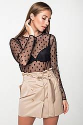 Блуза-сетка 21127