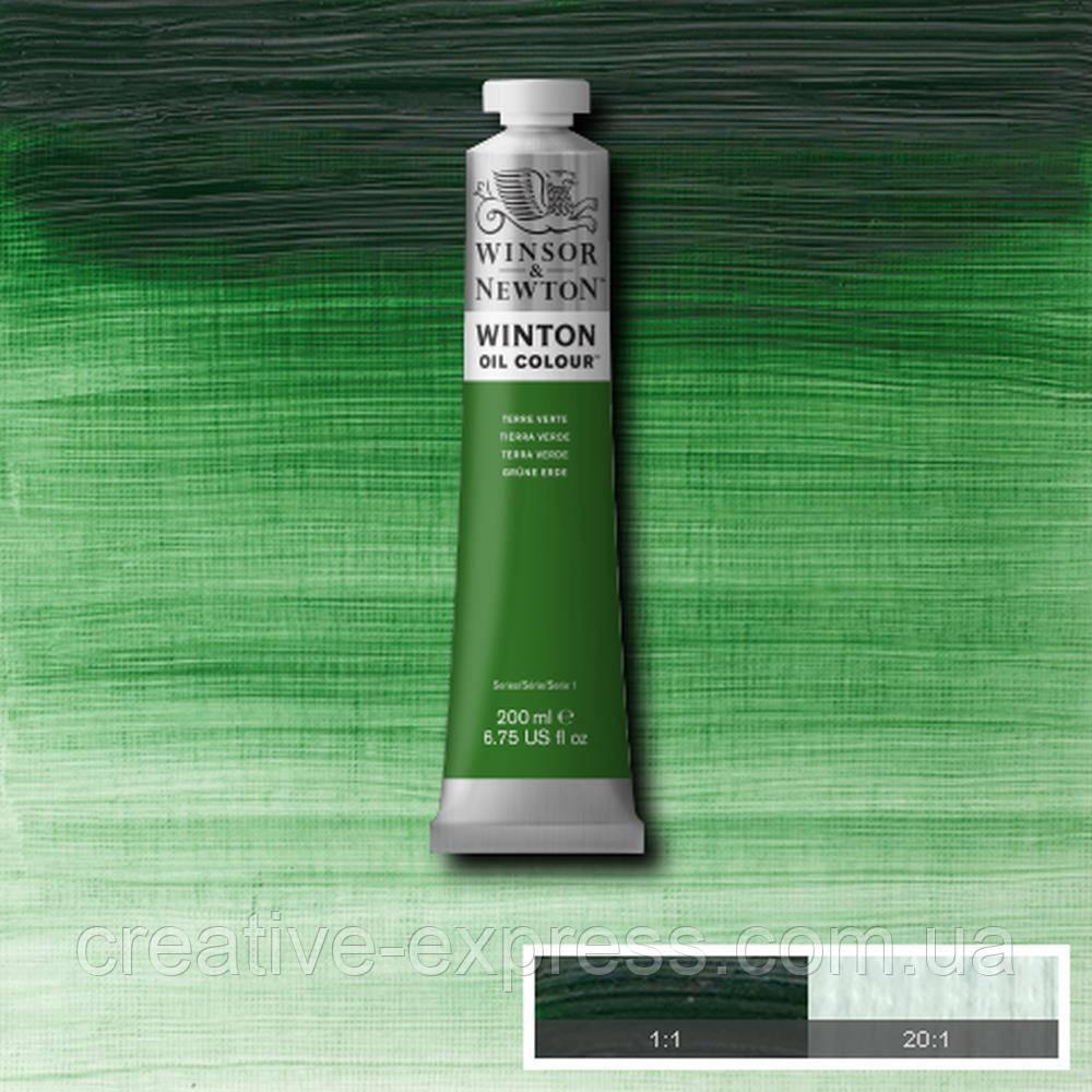 Фарба олійна 39 terre verde, 200 ml  WINSOR & NEWTON