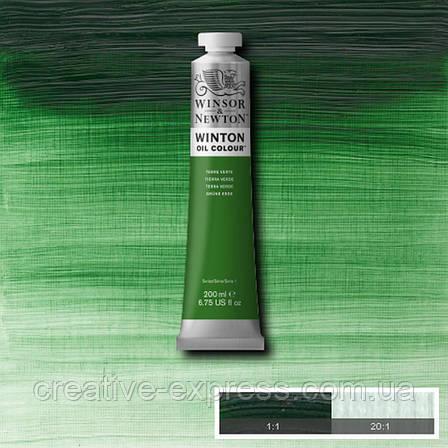 Фарба олійна 39 terre verde, 200 ml  WINSOR & NEWTON, фото 2