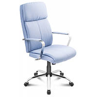 Офисный стул King голубой