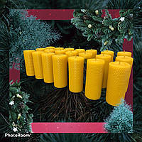 Свічки із вощини 8 шт.(набір), фото 1