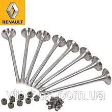 Выпускной клапан (комплект 8 шт) на Renault Trafic 2.0dCi (2006-2014) Renault (оригинал) 8201627433