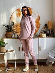 Спортивний теплий костюм з капюшоном 543