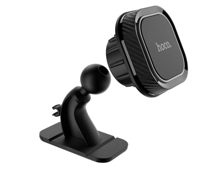 Автодержатель для телефона Hoco CA53 Intelligent dashboard in-car holder Black (KG-1258)