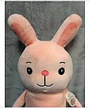 Плед - мягкая игрушка 3 в 1 (Заяц), фото 3
