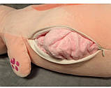 Плед - мягкая игрушка 3 в 1 (Заяц), фото 5