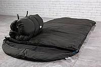 Теплый широкий спальный мешок (до -20) спальник туристический для похода, для холодной погоды!