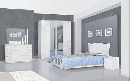Зеркало в спальню из ДСП Фелиция Новая Світ меблів , фото 2