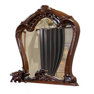 Зеркало в спальню из ДСП Кармен Новая Орех Світ меблів , фото 2