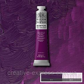 Фарба олійна 16 cob violet hue, 200 ml WINSOR & NEWTON, фото 2