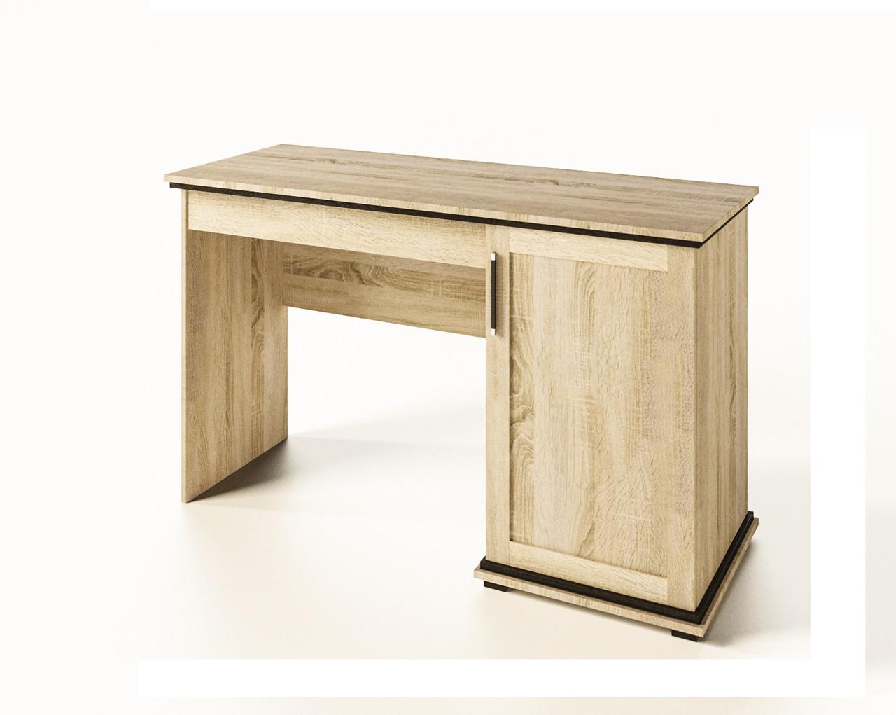 Стол письменный из ДСП Палермо Дуб сонома Світ меблів