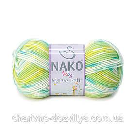 Пряжа для ручного и машинного вязания NAKO Baby Marvel Petit