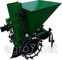 Картофелесажалка для мотоблока П-1Ц (зеленая)