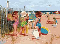 Картины по номерам 40*50 - Пляжницы