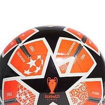 М'яч футбольний Adidas Finale 21 20th Anniversary UCL Club GK3470 №4, фото 3