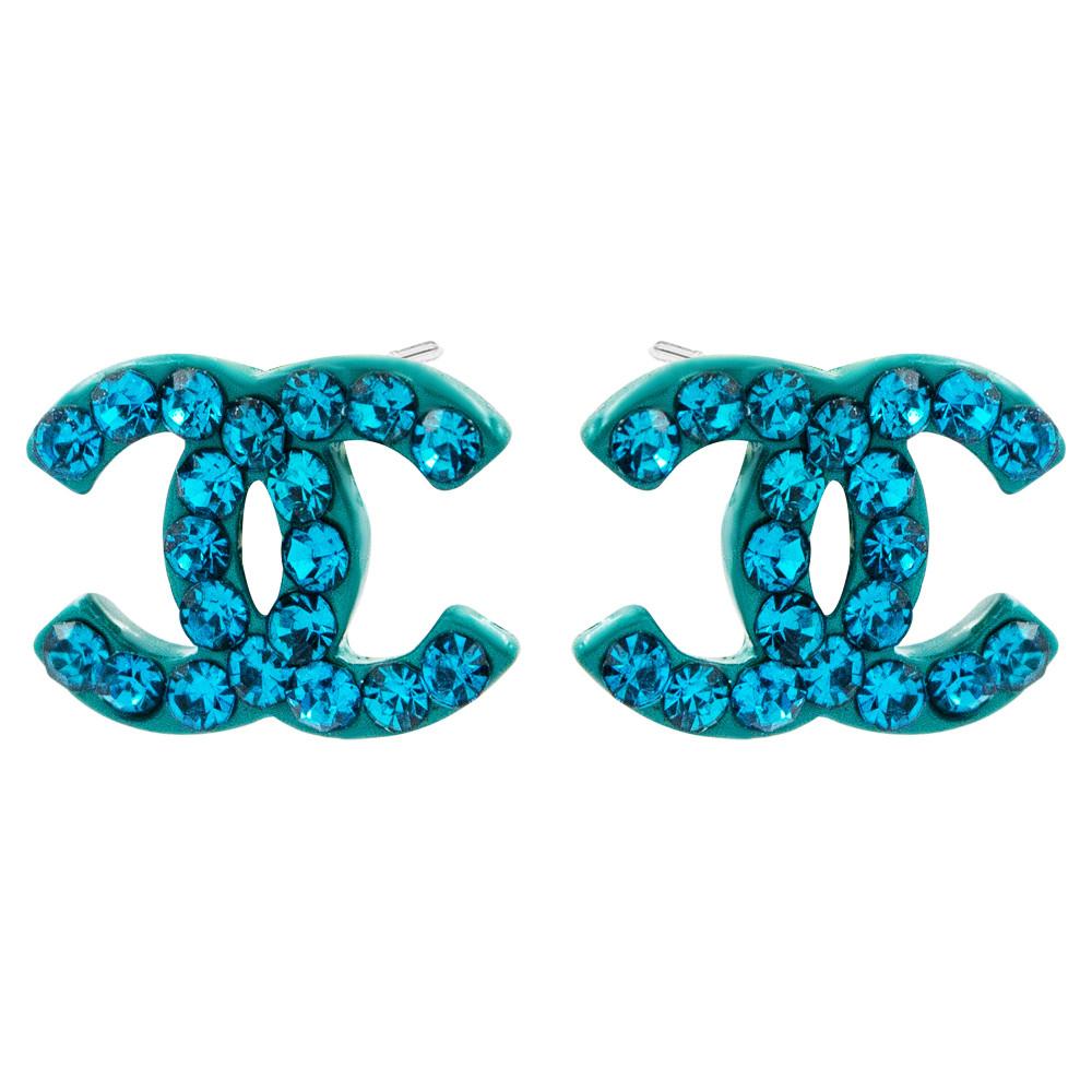 """Сережки-гвоздики """"Chanel"""""""