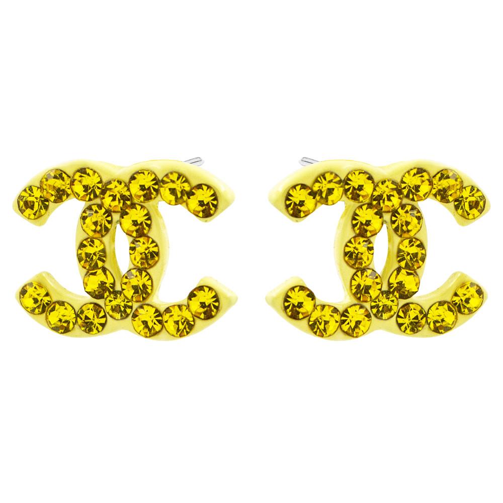"""Серьги-гвоздики """"Chanel"""""""