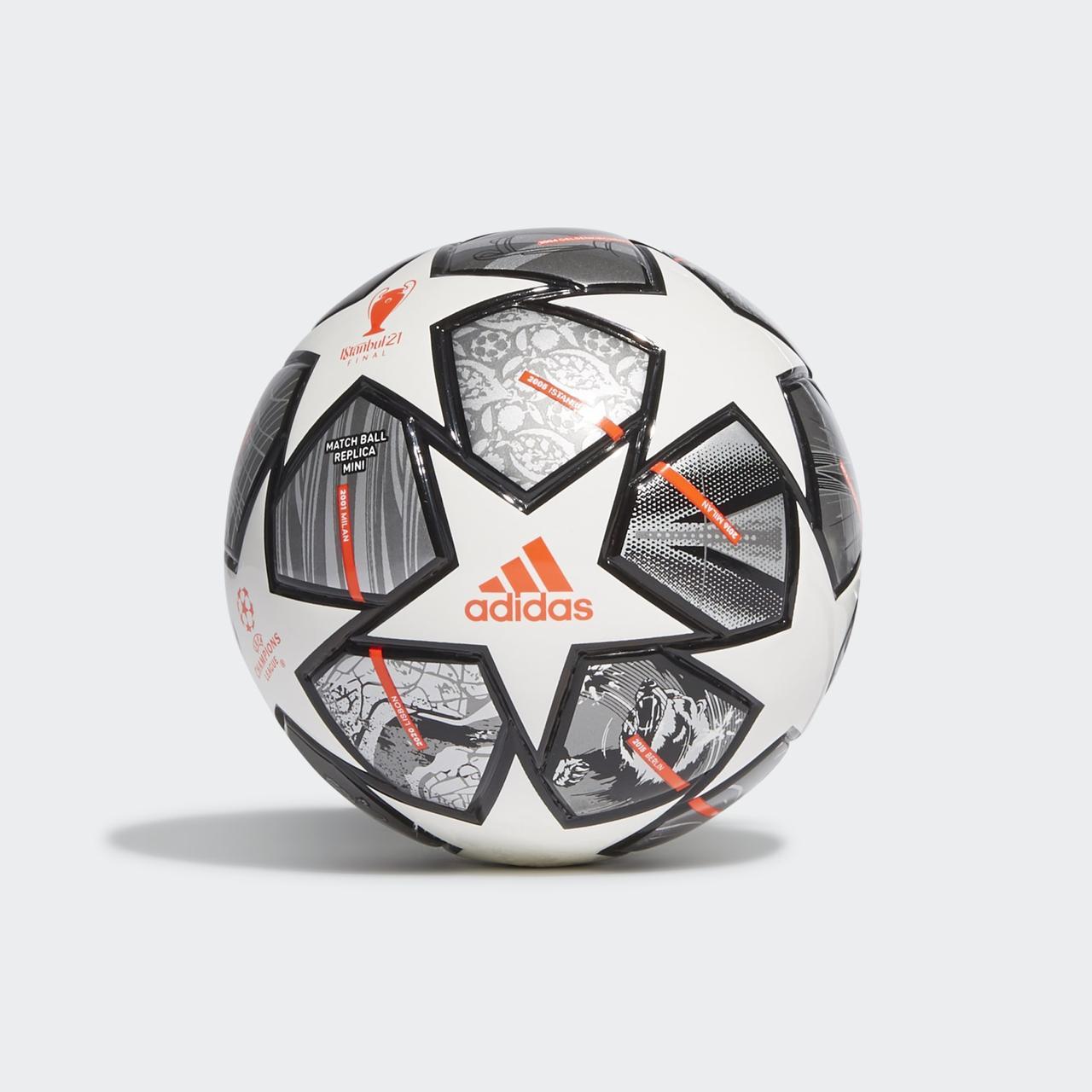 М'яч футбольний сувенірний Adidas Finale 21 20th Anniversary UCL Mini Ball №1 GK3479