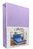 Махровая простынь на резинке 180*200 с наволочками Разные цвета RoYan Турция, фото 9
