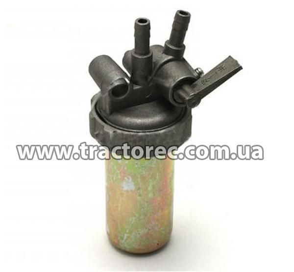Топливный кран в сборе с фильтром на двигатель R190-192, R195
