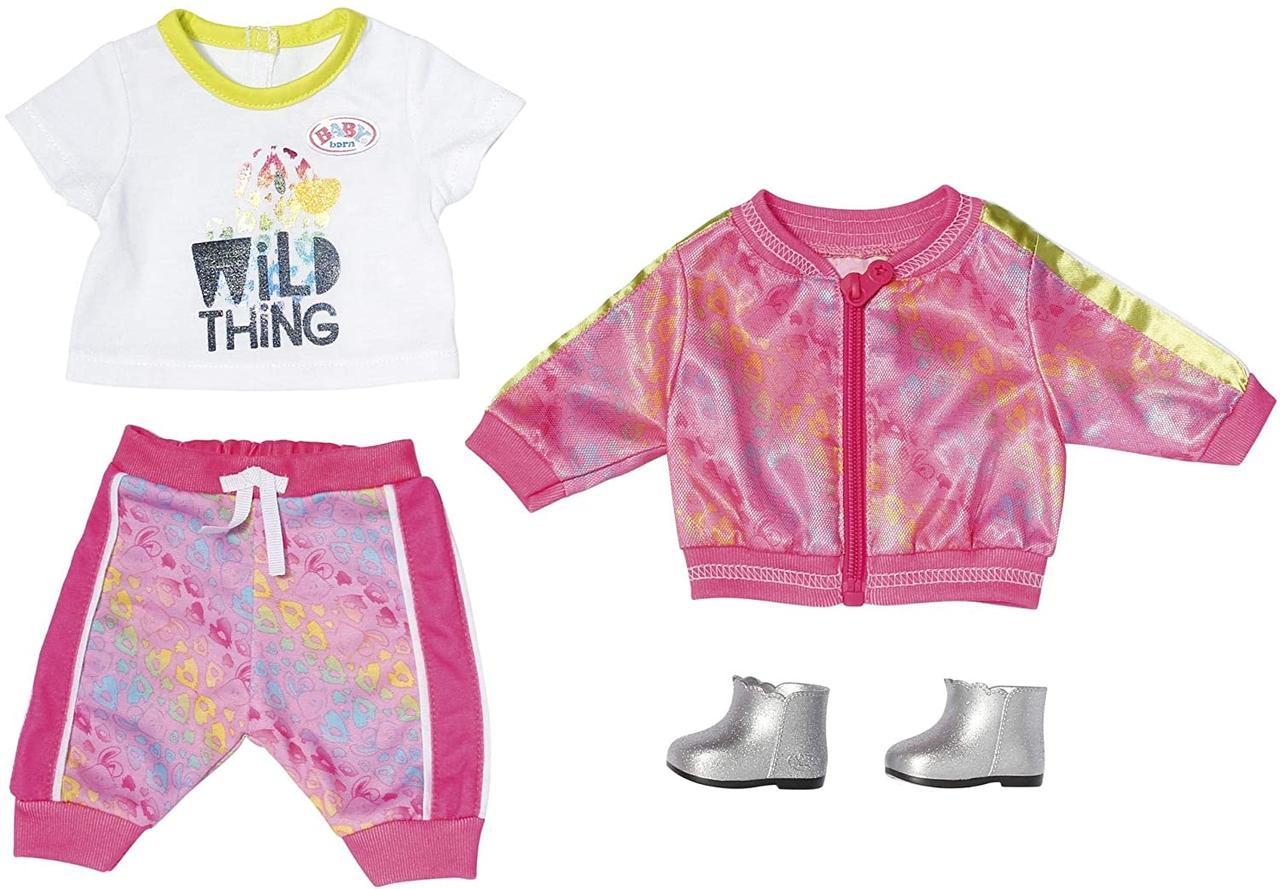 Одежда для Беби Борн Baby Born Трендовый розовый костюм Zapf Creation 828335