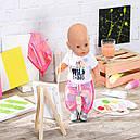 Одежда для Беби Борн Baby Born Трендовый розовый костюм Zapf Creation 828335, фото 5