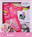 Одежда для Беби Борн Baby Born Трендовый розовый костюм Zapf Creation 828335, фото 8